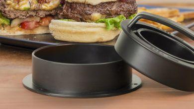 Hamburgerpressar