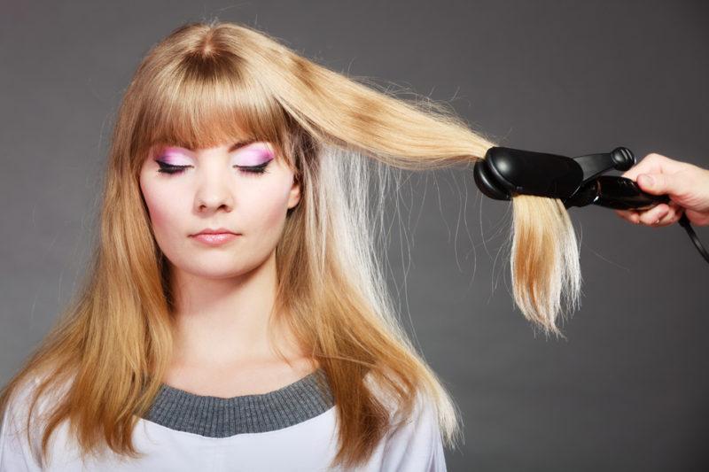 hår plattång