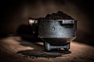 kaffebryggare med kvarn