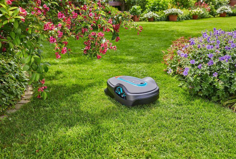 Automatiska gräsklippare