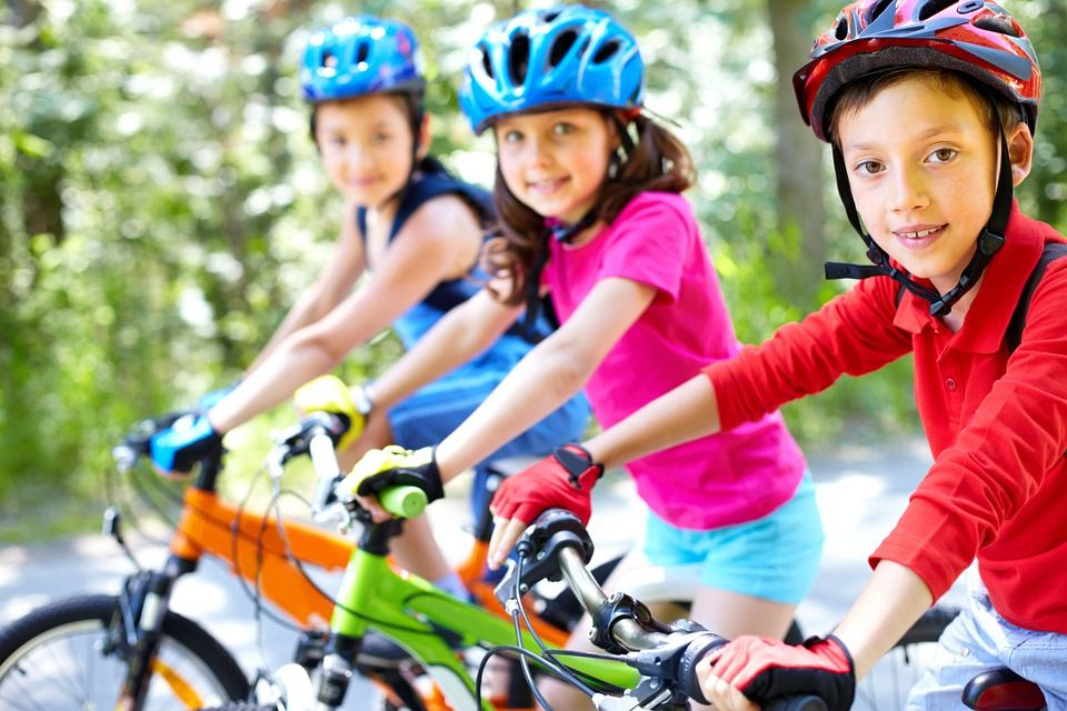 cykelhjälm barn test