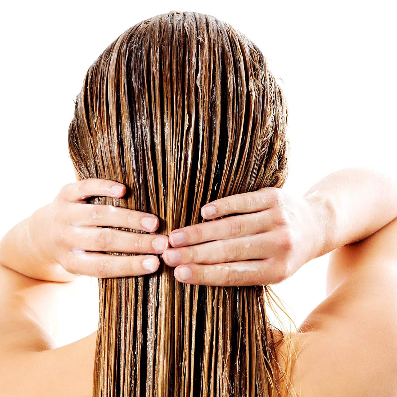 ricinolja hår