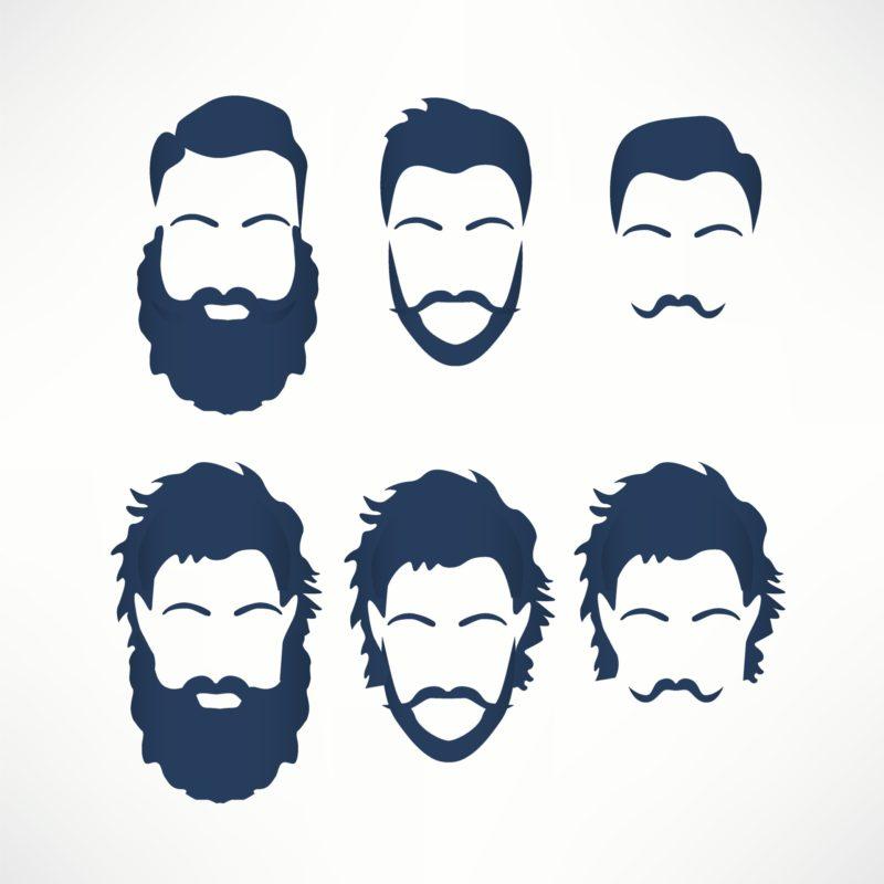 ta hand om skägg