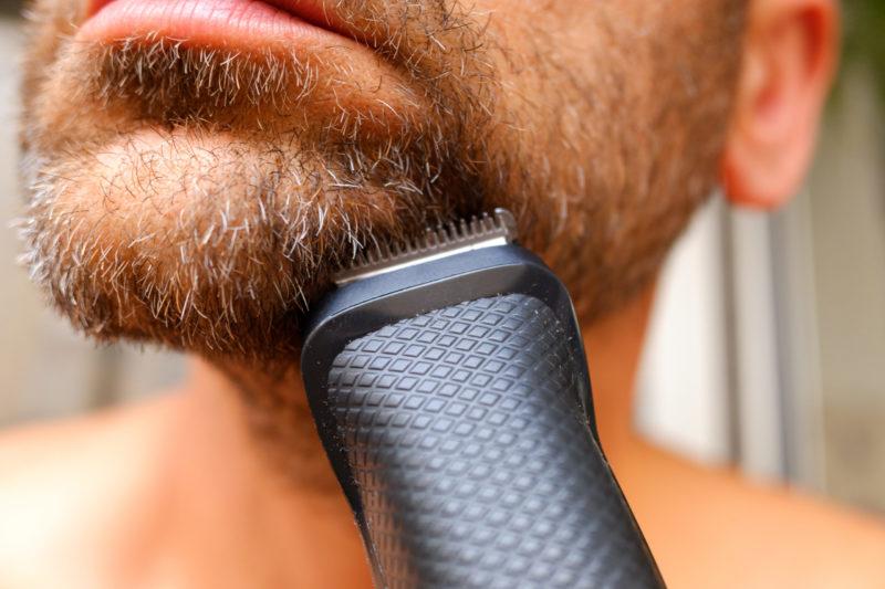 trimma skägget