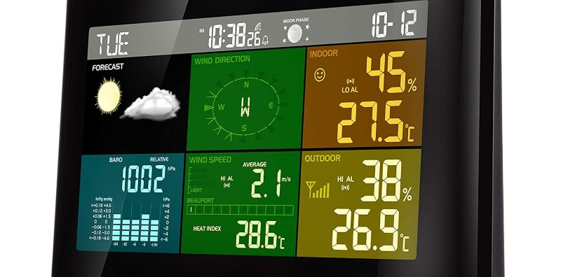 mid-range weather stations