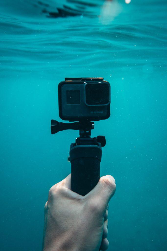 actionkamera vattentät