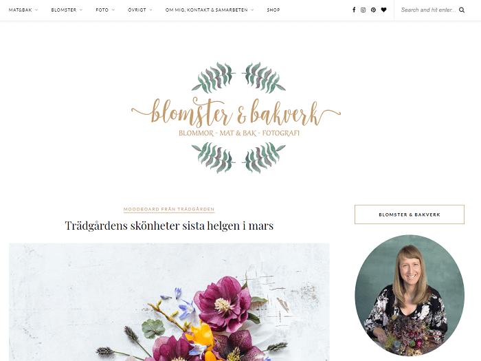 Blomster och Bakverk