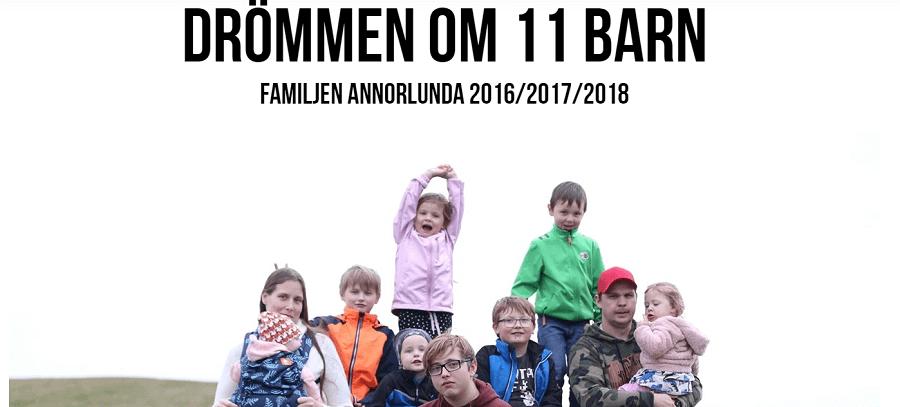 Drommen om 11 barn