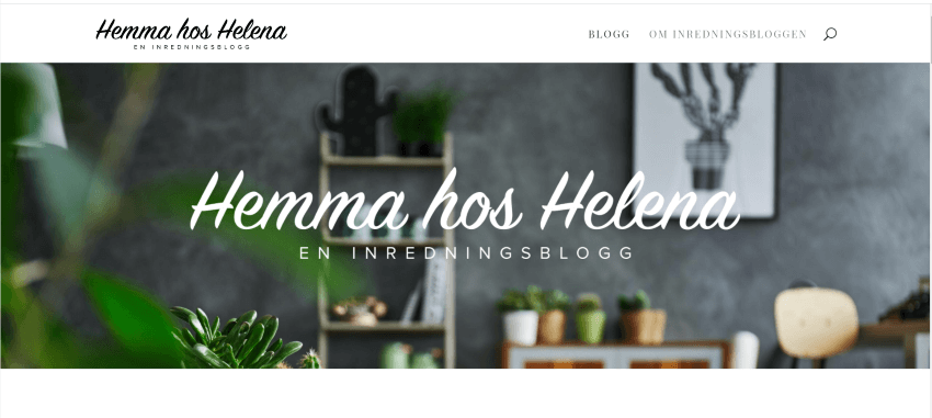 Hemma hos Helena