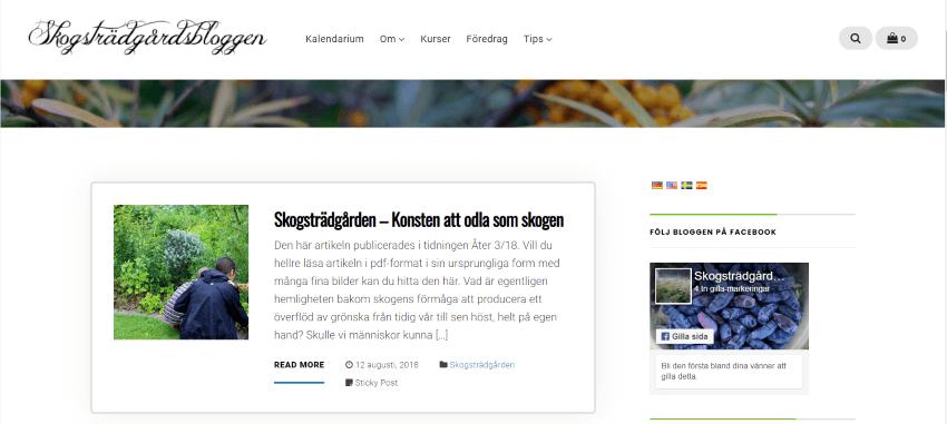 Skogstradgards Bloggen