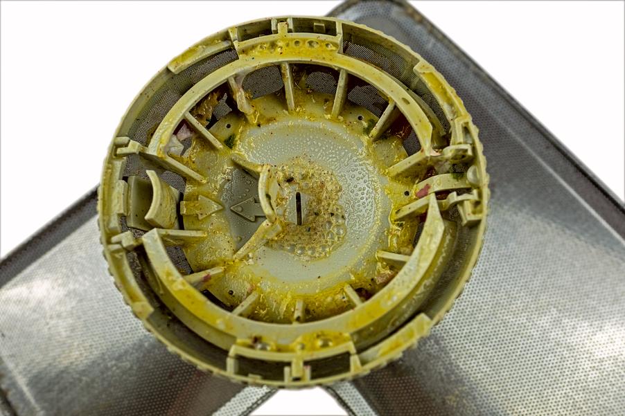 smutsig diskmaskin