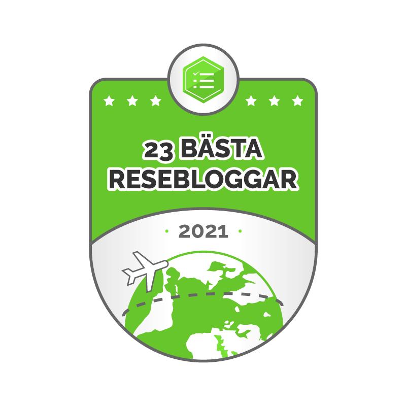 Basta Resebloggarna badge