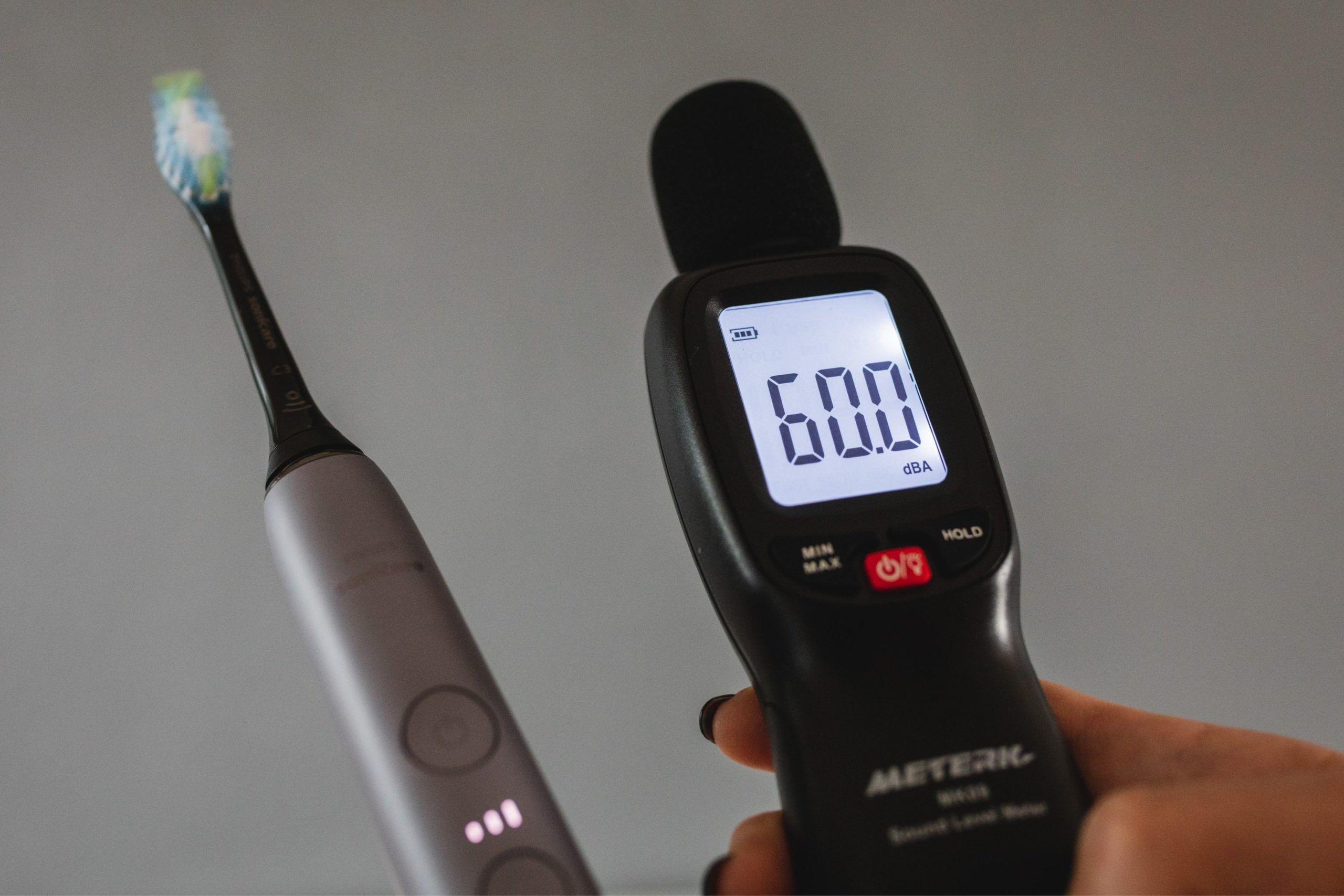 Eltandborste Philips Sonicare DiamondClean Smart ljudtest