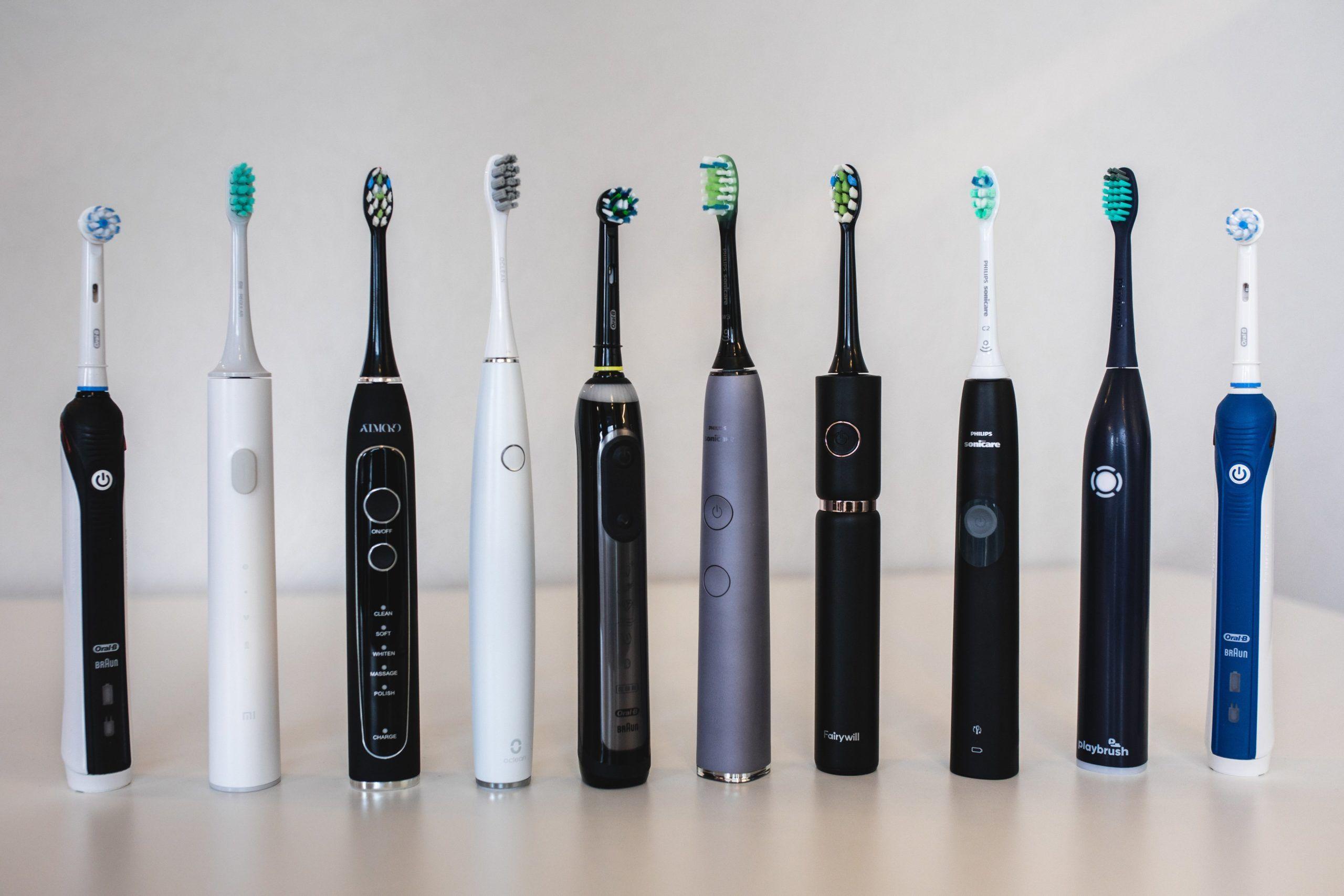 Tandborste elektrisk linje