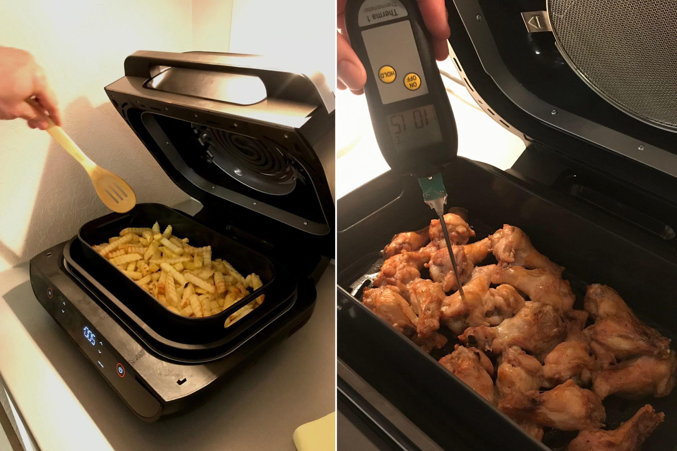 Ninja Foodi Max Health Grill & Air Fryer matlagning